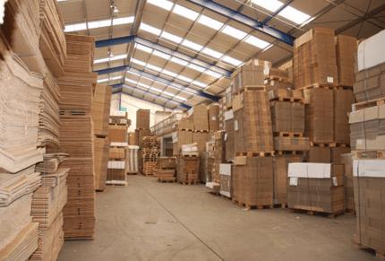 Dozenhal - kartonnen verpakkingsmaterialen