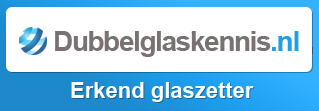 Dubbel glas plaasten